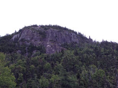 Rock Climbing Photo: Murray's Peak from the trail