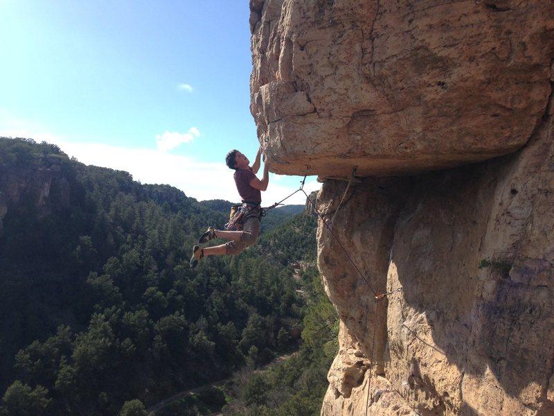 Rock Climbing Photo: Cutting!