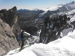 Rock Climbing Photo: D man dropping