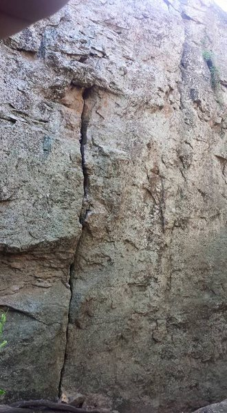 Rock Climbing Photo: We were looking for the 5.7 Hand crack last weeken...
