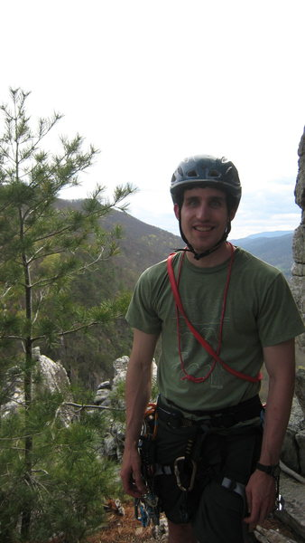 Rock Climbing Photo: Myself, on Seneca Rocks