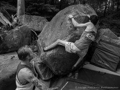 Rock Climbing Photo: Oliver Richman on Ill Communication