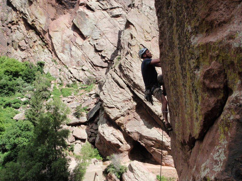 Rock Climbing Photo: Direct start.
