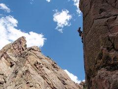 Rock Climbing Photo: Steepness.
