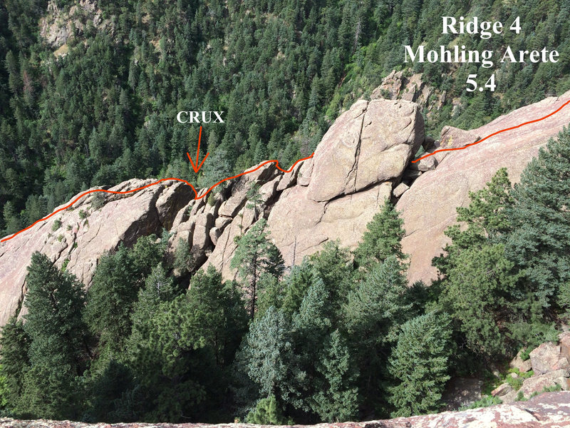 Rock Climbing Photo: Lower ridge.