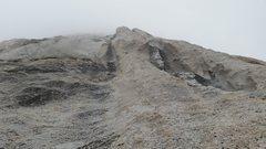 Rock Climbing Photo: Feature that looks like a giant chicken butt. Trav...