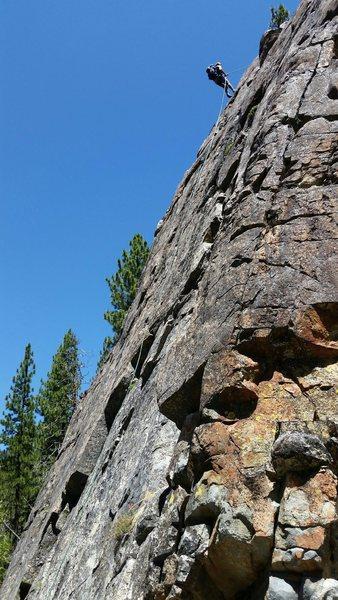 Rock Climbing Photo: Me checkin out the cliff