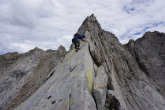 Rock Climbing Photo: Saber Ridge is right next to the Prism and is a MU...