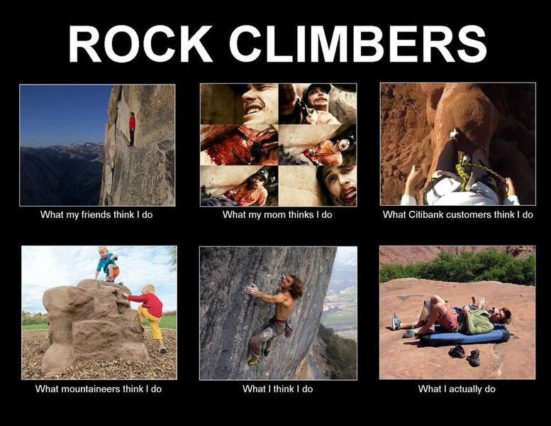 Rock Climbing Photo: You