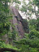 Rock Climbing Photo: Unclimbed East facing walls.  South of the Tower.
