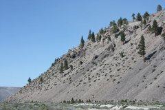 Rock Climbing Photo: The scenic Mono Craters, June Lake Area