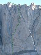 Rock Climbing Photo: Red Cloud IV 5.12a