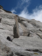 Rock Climbing Photo: Broken Treaties 5.10