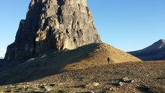 Rock Climbing Photo: On Goat Plateau,  just below the SE face of Eisenh...