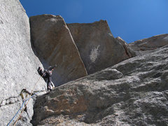 Rock Climbing Photo: Wasichu Roof 5.12a
