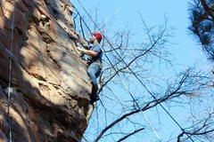 Rock Climbing Photo: Cruisin' up the arete.