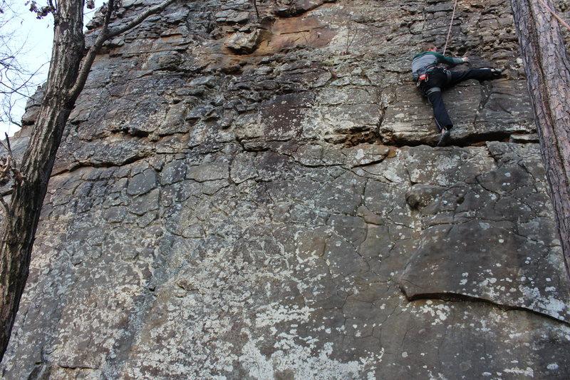 Rock Climbing Photo: Disclaimer: High heel hook unnecessary.