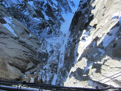 Rock Climbing Photo: the view from the rappel bridge