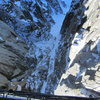 the view from the rappel bridge
