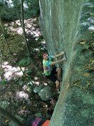 Rock Climbing Photo: funny face