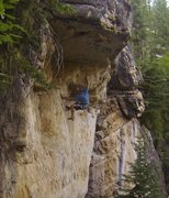 Rock Climbing Photo: This route is killer!