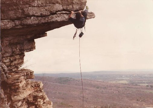 Rock Climbing Photo: Randy Chalnick on THE DANGLER 5.9