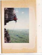Rock Climbing Photo: RANDY CHALNICK ON THE DANGLER 5.9