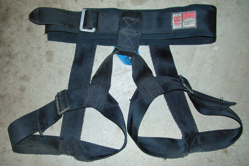 #1 Clan Robertson harness from summer or fall of 1972. I bought this from Brian at his house.