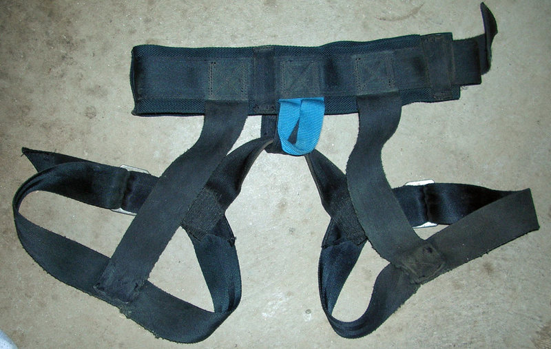Rock Climbing Photo: #4 Clan Robertson harness, the rear.