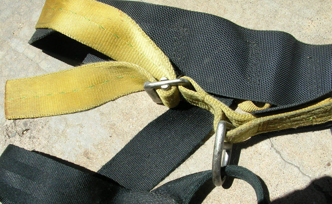 Rock Climbing Photo: #3 Clan Robertson harness.