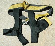 Rock Climbing Photo: #14 Clan Robertson harness. The rear.