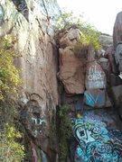 Rock Climbing Photo: Face climb left of corner climb??