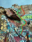 "Rock Climbing Photo: these are the two ""routes"" ive been top ..."