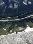Rock Climbing Photo: Moah roadside cragging