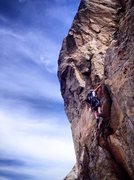 Rock Climbing Photo: Mr. Spiewak on the Cigarette Day Dream Variation t...