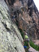 Rock Climbing Photo: Getting that Euro Vision.
