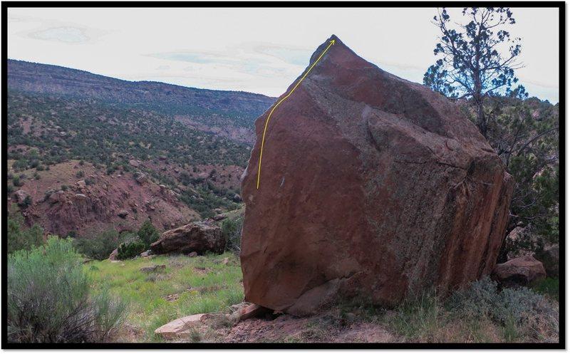 Rock Climbing Photo: Hypnotic Regression problem beta.