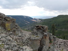 Rock Climbing Photo: View from the edge