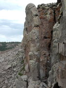 Rock Climbing Photo: Instead of heading left and north at the end of th...