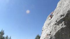 Rock Climbing Photo: Lake Gordon on Small Fry...