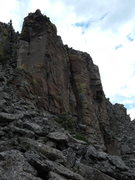 Rock Climbing Photo: Just some of the Banshee Wall
