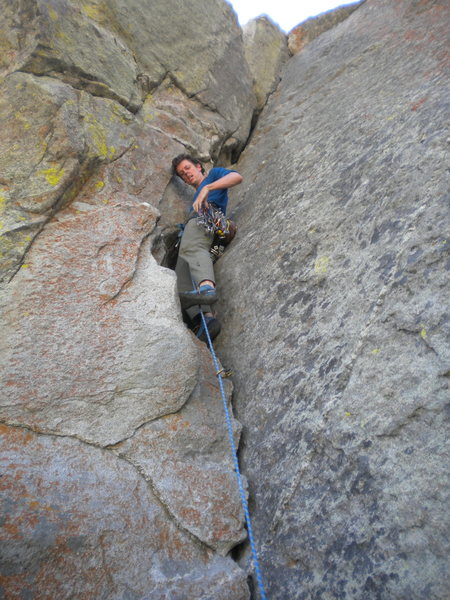 Rock Climbing Photo: Zeal for Z-Crack!