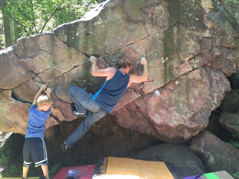 Rock Climbing Photo: The Problem