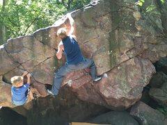 Rock Climbing Photo: Problem
