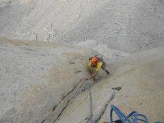 Rock Climbing Photo: Josh Cruxing