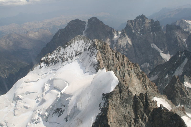 Barre and Dome des Ecrins