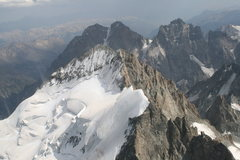 Rock Climbing Photo: Barre and Dome des Ecrins
