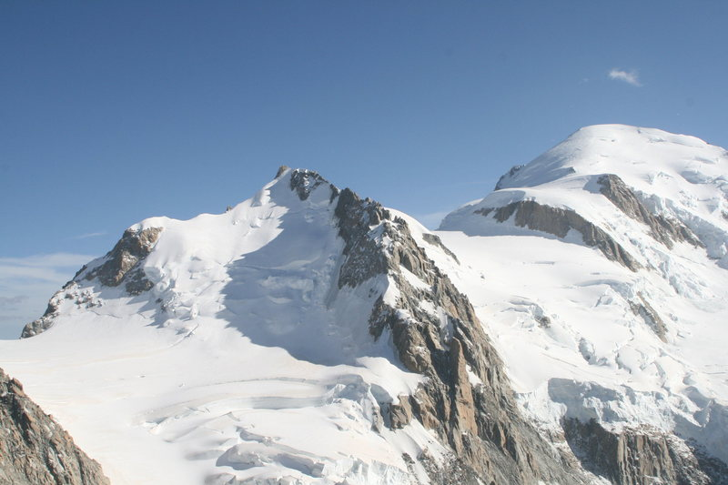 Mt Maudit and Mt Blanc