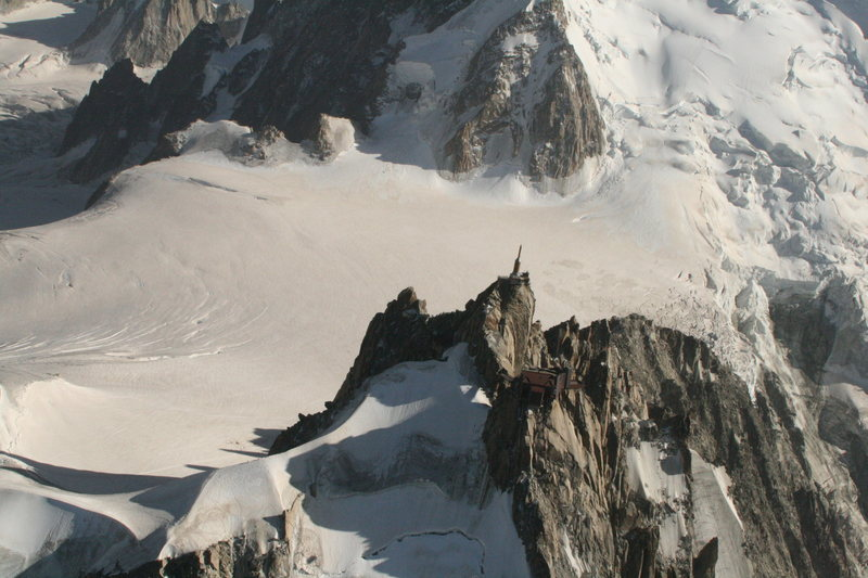 Rock Climbing Photo: Aiguille du Midi