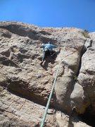 "Rock Climbing Photo: Enjoying the moves on ""Nice Marmot."""